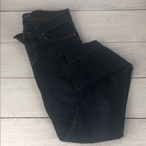 "JBrand dark wash ""pencil leg"" jeans size 25"